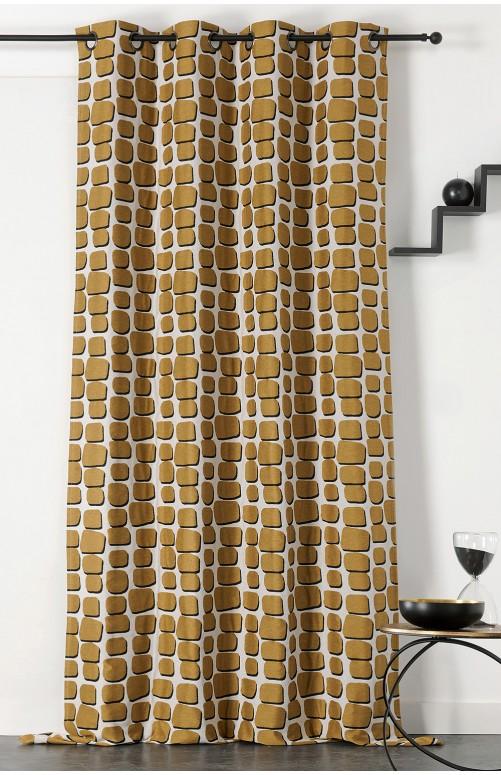 Rideau - Wall tissu upcyclé
